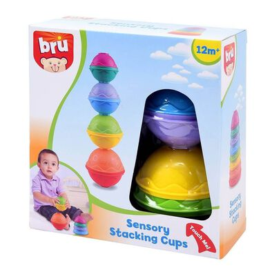 BRU Sensory Stacking Cups