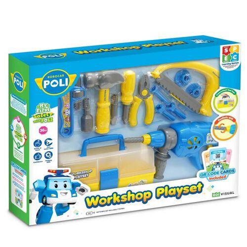 Robocar Poli Workshop Playset