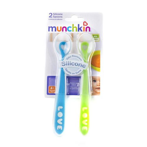 Munchkin 2 Silicone Spoons