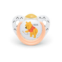 Nuk Disney Winnie The Pooh Latex Soother (2/Box) 18-36M