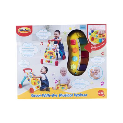 Grow With Me Musical Walker