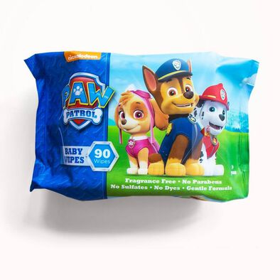 Paw Patrol Baby Wipes 90 Sheets