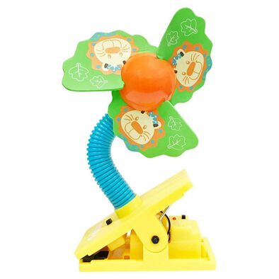 Lucky Baby Mini Clipfan Ult Mosquito Repel Lion