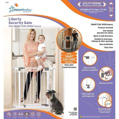 Dreambaby Liberty Security Gate (White)