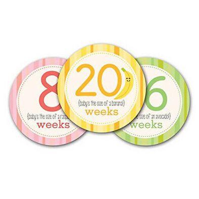 Pearhead Pregnancy Milestone Stickers