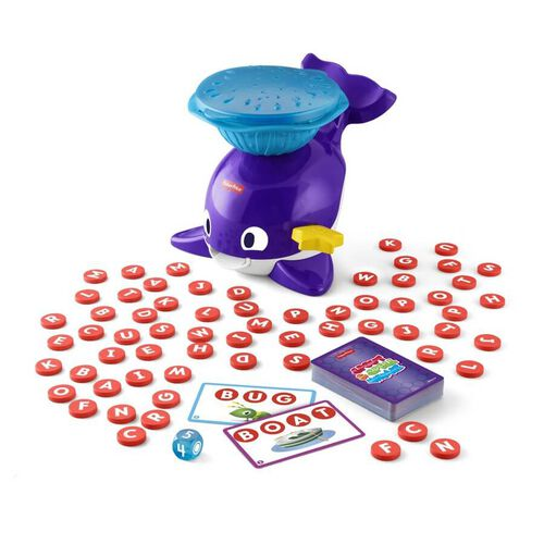 Fisher-Price Spout and Spell Whale