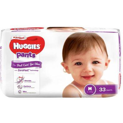 Huggies Platinum Pants M 33S