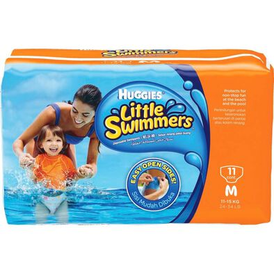 Huggies Pants Little Swimmer Medium 11Pc
