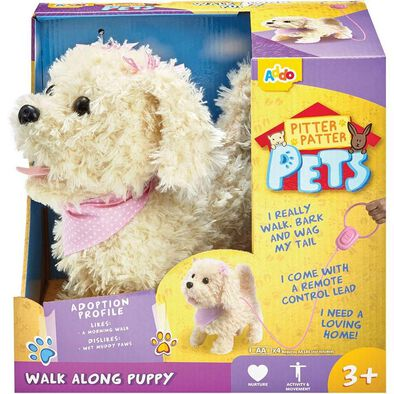 Pitter Patter Pets Walk Along Puppy