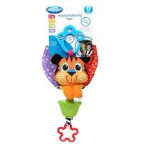 Playgro Musical Pullstring Tiger - Assorted