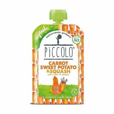 Piccolo Pure Vegetable - Carrot And Sweet Potato
