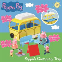 Peppa Pig Peppa's Camping Trip Playset