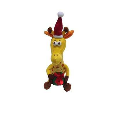 "Christmas Geoffrey The Giraffe Toys""R""Us Mascot 13"" Soft Toy"