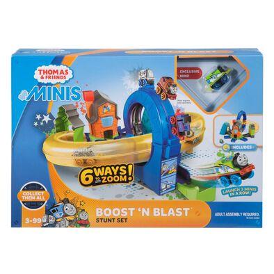 Thomas & Friends Minis Boost 'N Blast Stunt Set