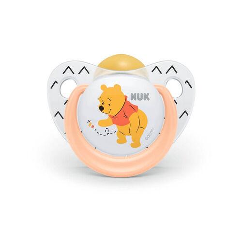 Nuk Disney Winnie The Pooh Latex Soother (2/Box) 18-36M