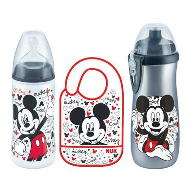 Nuk Mickey Bottles Bundles Set
