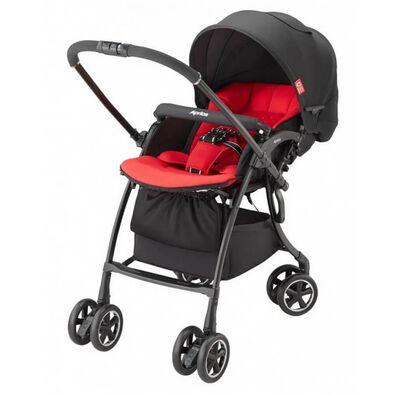 Aprica Luxuna Comfort Stroller Pastel Red