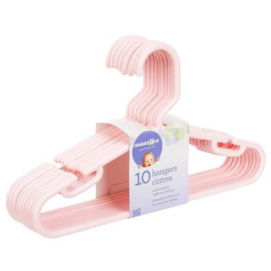 """Babies""""R""""Us 10 Pack Hangers Pink"""