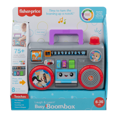 Fisher-Price Laugh & Learn Boombox