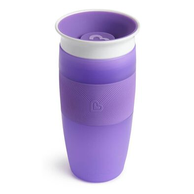 Munchkin Miracle 360 Cup 14oz Purple