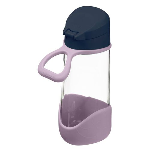 B.Box Sport Spout Bottle 450ml Indigo Rose