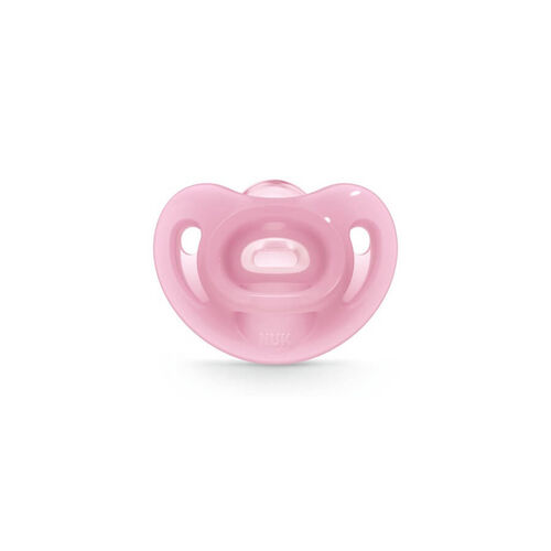 Nuk Sensitive Silicone Soother (1/Box) 6-18M