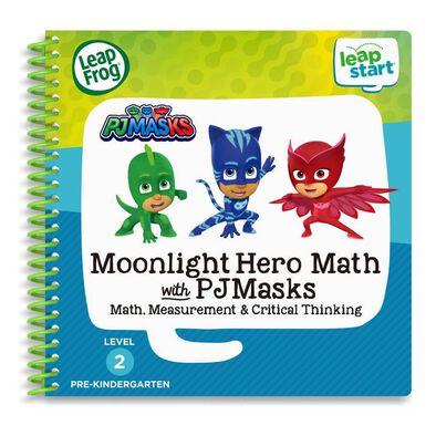 LeapFrog LeapStart 3D Book PJ Mask Moonlight Hero Math