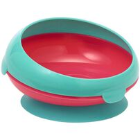 The First Years Easy Scoop Rim Section Bowl (Blue/Orange)
