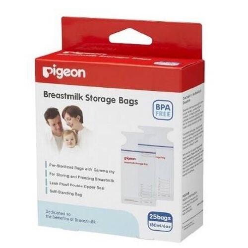 Pigeon Breastmilk Storage Bags (25 Bags)