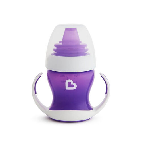 Munchkin 1-Pack 4oz Gentle Transition Cup Purple