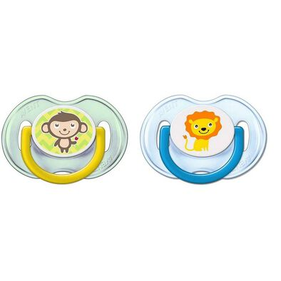 Philips Avent Soother Fashion Mixed 0-6M - Assorted