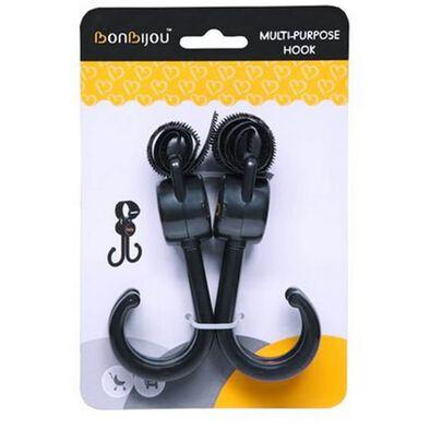Bonbijou Double Stroller Hook Black