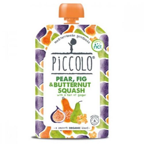 Piccolo Pear, Fig And Butternut Squash With Ginger