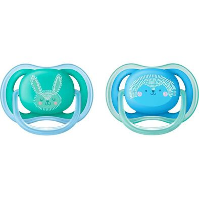 Philips Avent Ultra Air Pacifier Boy Deco 6-18M