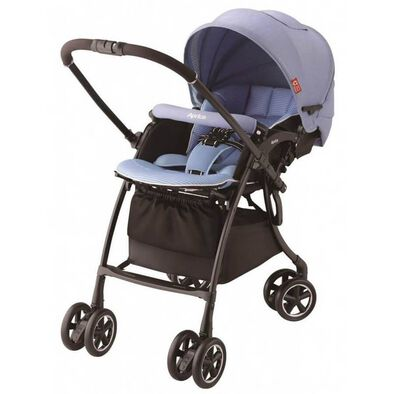 Aprica Luxuna Comfort Stroller Pastel Blue