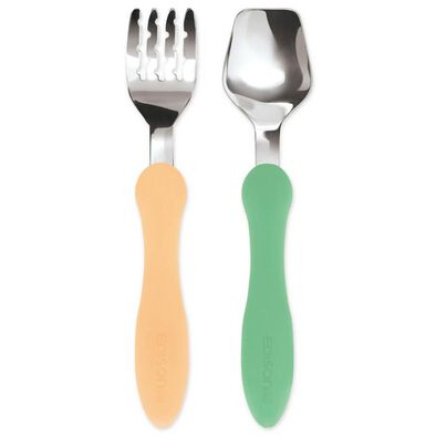 Edison Mama Fork and Spoon (Pastel)