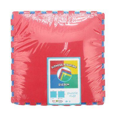 Sunta 4 Piece Coloured Puzzle Mat (Fitness Flooring System)