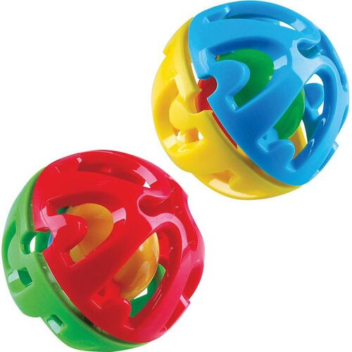 BRU Twist and Click Ball - Assorted
