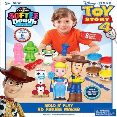 Cra-Z-Art Toy Story Mold N' Play 3D Figure Maker