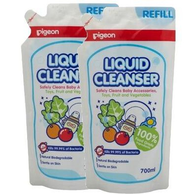 Pigeon Liquid Cleanser 700Ml Refill (2 In 1 Bag)