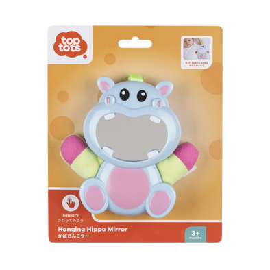 Top Tots Hanging Hippo Mirror