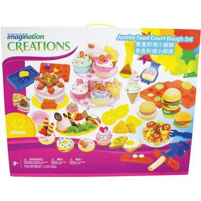 Universe of Imagination Jumbo Food Court Dough Set