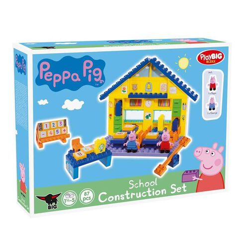 Playbig Bloxx Peppa Pig - School