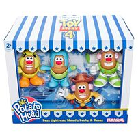 Toy Story Mr. Potato Head Buzz Lightyear, Woody, Ducky and Bunny
