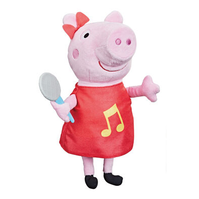 Peppe Pig Oink Along Songs Peppa Feature Plush