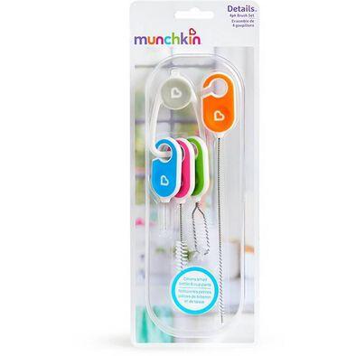 Munchkin 4 Pack Details Brush Set