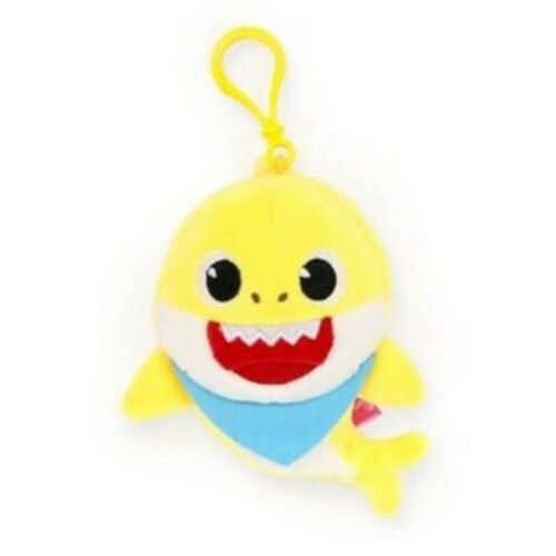 Pinkfong Baby Shark Soft Toy Keyring With Sound
