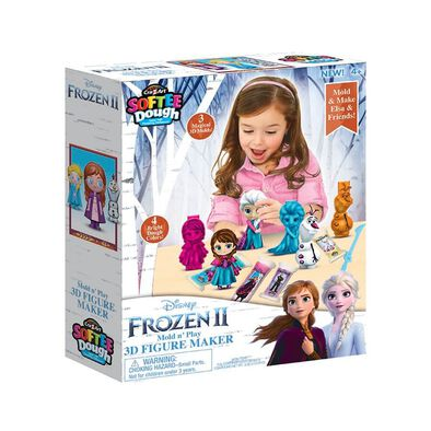 Cra-Z-Art Softee Dough Disney Frozen 2 3D Figure Maker