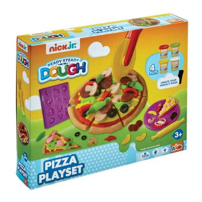 Nick Jr Ready Steady Dough Pizza Playset
