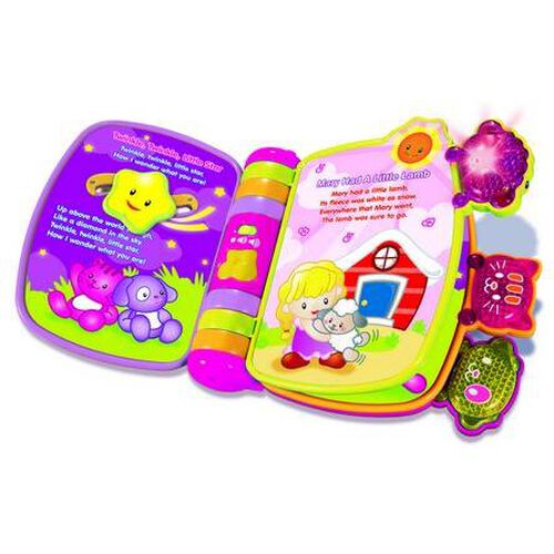 Vtech Pink Rhyme & Discover Book